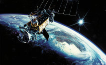 Defense Meteorological Satellite Program Primary function: Collect terrestrial, space en- vironment and Earth surface data. Dimensions: Approximately 14 ft. long. Weight: 2,545 lbs., includ- ing 592-pound sensor payload.