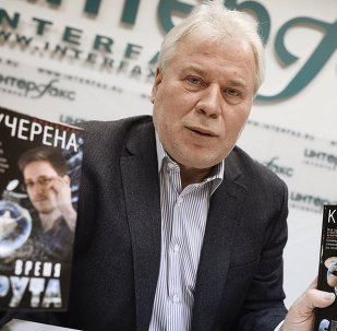 Former National Security Agency leaker Edward Snowden's lawyer in Russia, Anatoly Kucherena, presented his book Time of the Octopus, the first fictional thriller in a planned series of three, tells the story of US whistleblower