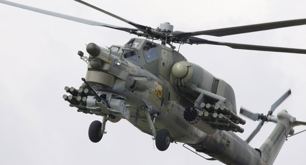 Mi-28 helicopter