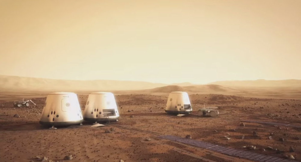 A Mars One colony