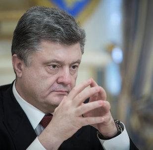 Ukraine's President Poroshenko