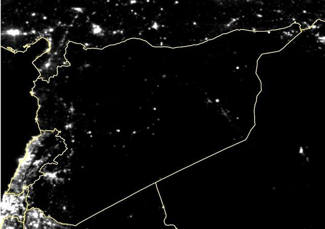 A recent observation of Syria's nighttime lights reveals that 83% of the country's lights have gone out since the start of the military conflict in 2011
