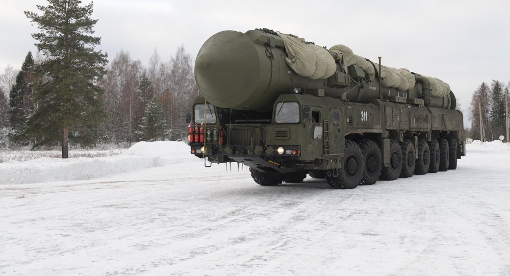 Yars MIRV-equipped ICBM, on its mobile Kamaz transporter