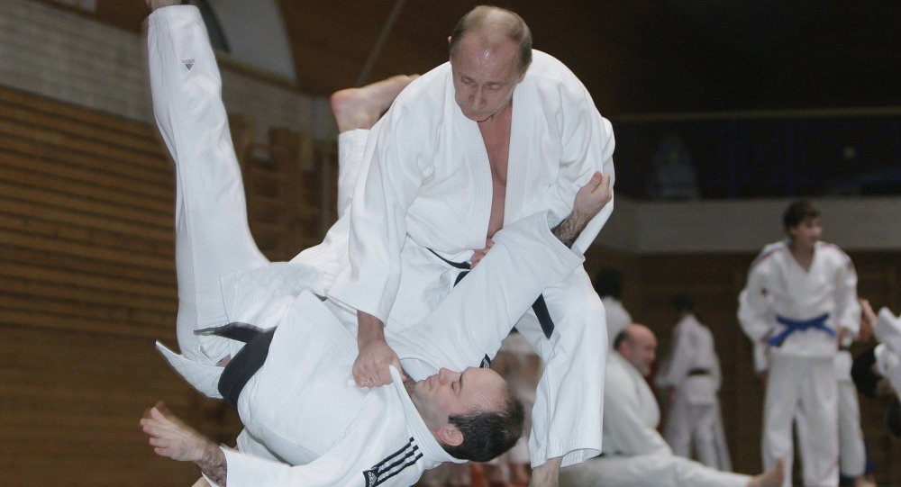 Kusturica: 'Judo Master Putin' Able to Counter...