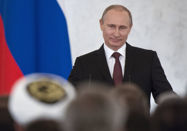 Vladimir Putin's statement on Crimea's integration with Russia