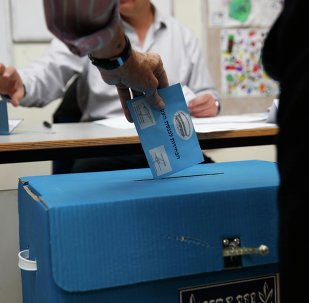 Nearly 55 percent of all eligible voters cast their ballots in the Israeli parliamentary elections by 6 p.m. local time.