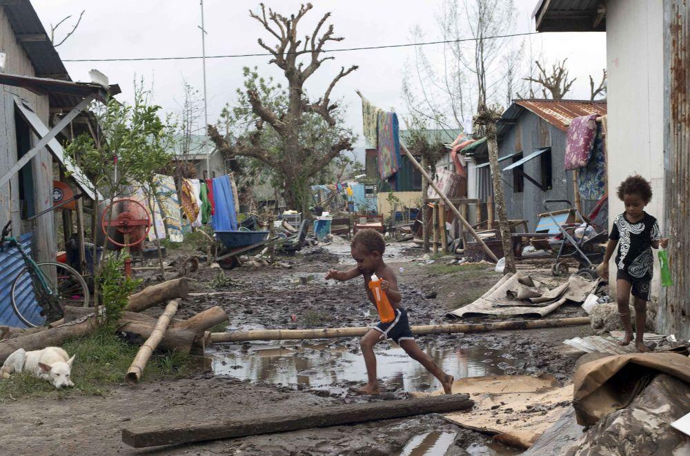 Vanuatu After 'Monster' Cyclone Pam