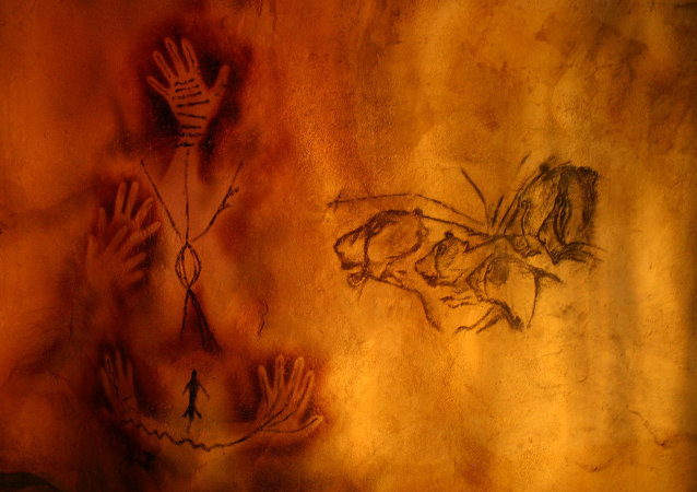 Cave Paintings, Hand Prints, 12,000 to 10,000 years old