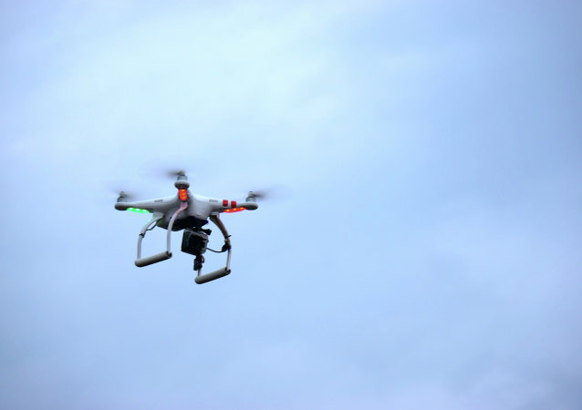 According to the military, the drone was a small, commercially available model.