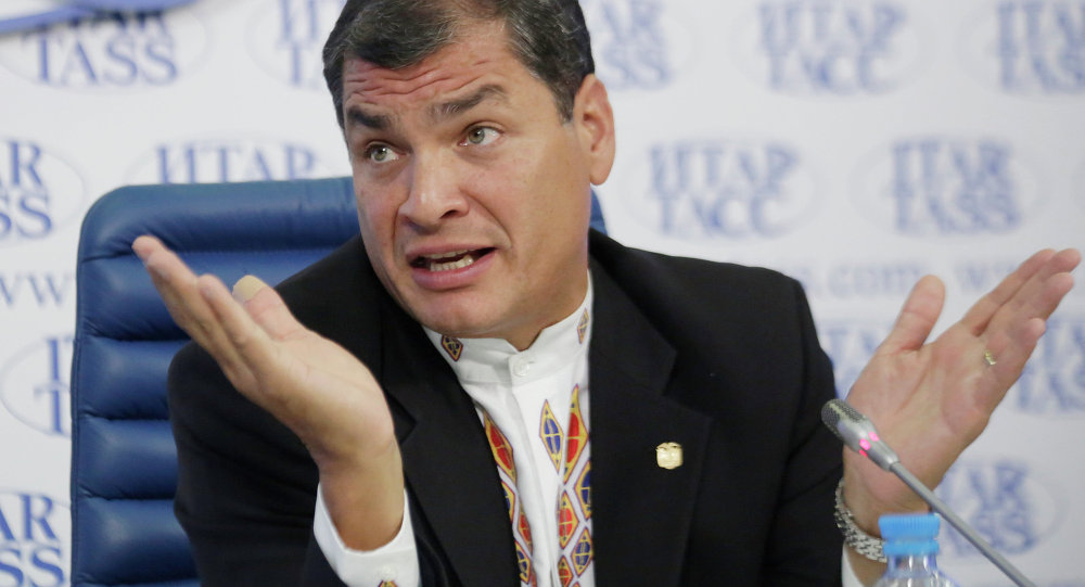News conference by President of the Republic of Ecuador Rafael Correa