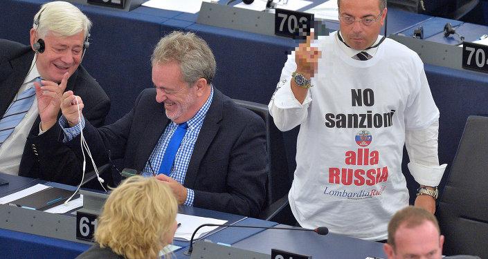 Italian non-affiliated MP Gianluca Buonanno