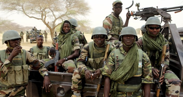 Nigerien special forces prepare to fight Boko Haram in Diffa March 26, 2015