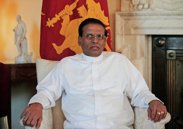 Sri Lanka's President Maithripala Sirisena