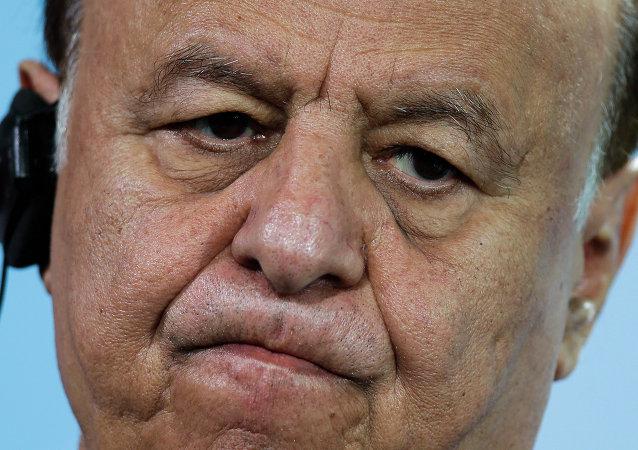 Yemeni President Abd Rabbuh Mansour Hadi