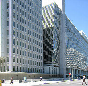 The World Bank Group headquarters bldg. in Washington, D.C.
