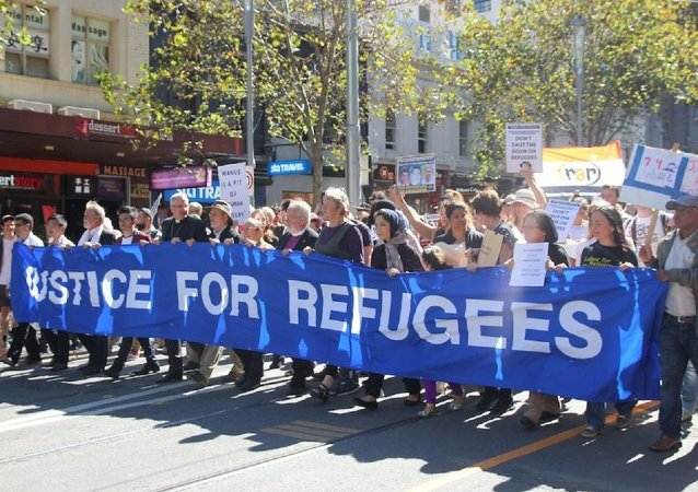15,000 people took it to the streets of Melbourne