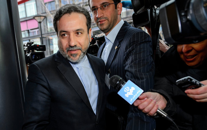 Iranian Deputy Foreign Minister Abbas Araqchi. File photo