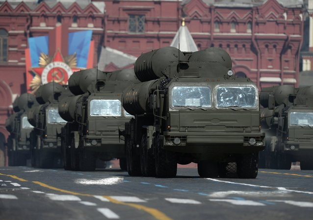 S-400 air defense systems at the parade on Red Square devoted to the 69th anniversary of the victory in the Great Patriotic War