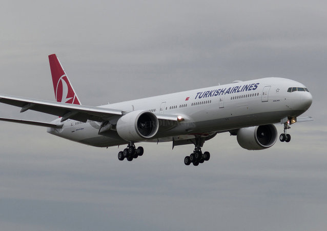 Turkish Airlines Boeing 777-3F2(ER)