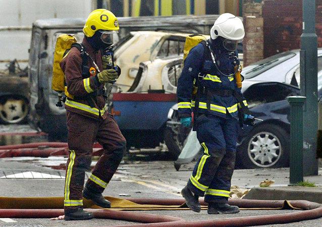 Firemen, London