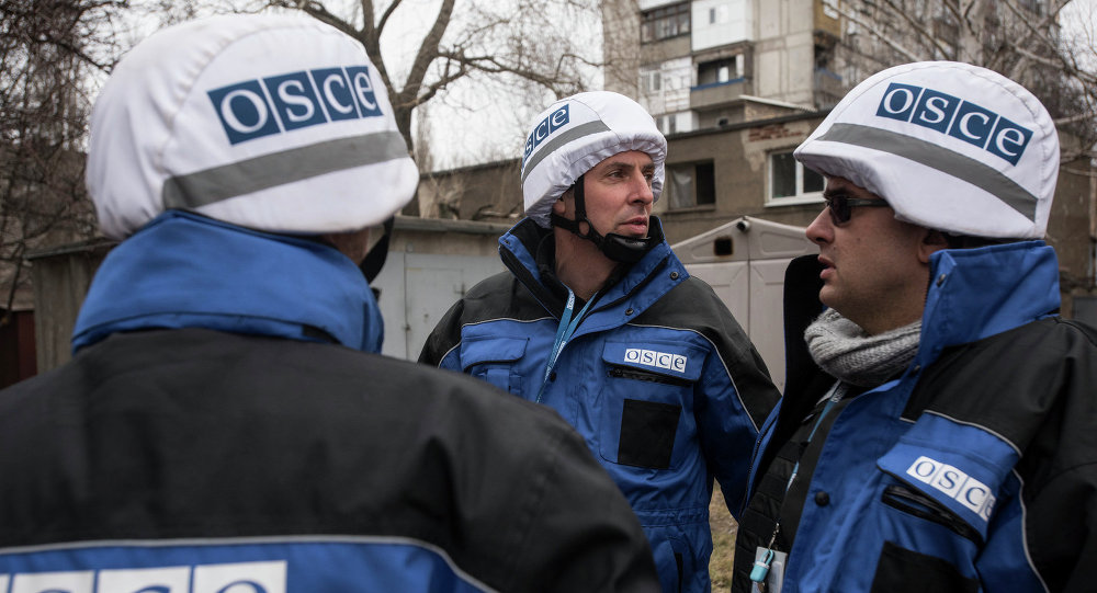 OSCE SMM in Donbass