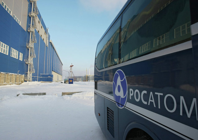 Spent fuel storage in Zheleznogorsk