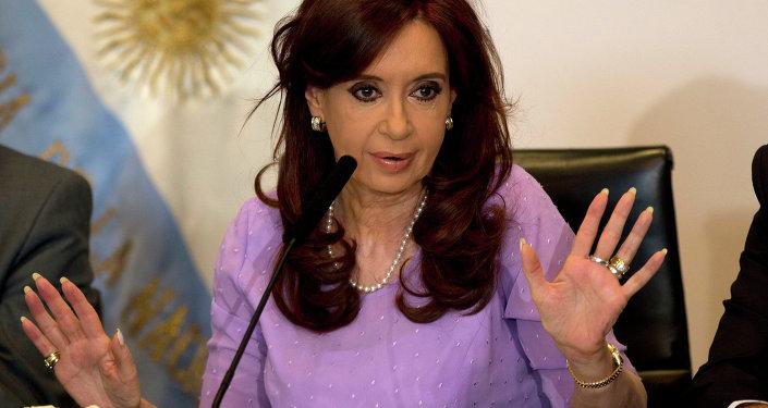 Former Argentinian President Christina Fernandez de Kirchner