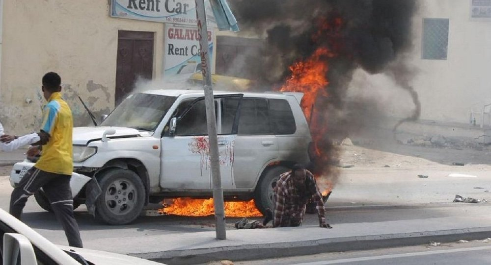 Car Bomb Wounds Security Officer in Mogadishu