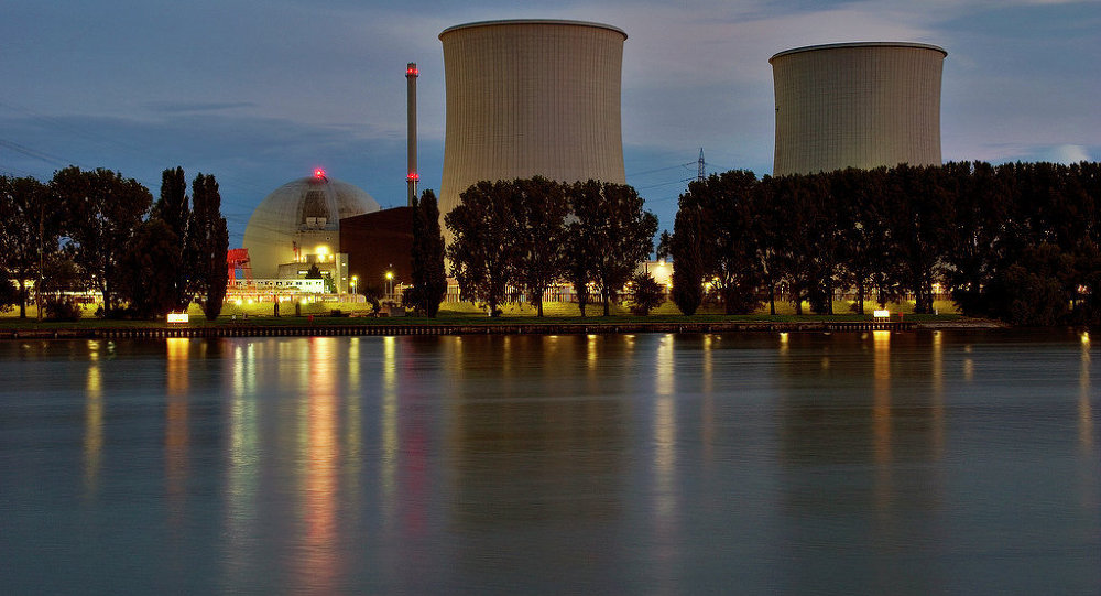 A nuclear power plant in Biblis, Germany