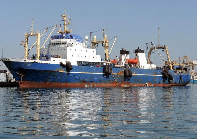 Russian trawler Oleg Naidenov. (File)