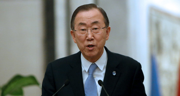 The Syrian people are victims of the worst humanitarian crisis of our time, said United Nations Secretary-General Ban Ki-Moon