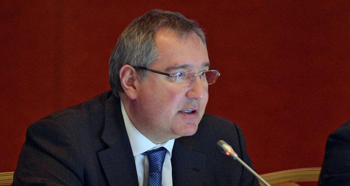 Vice-Prime Minister Dmitry Rogozin