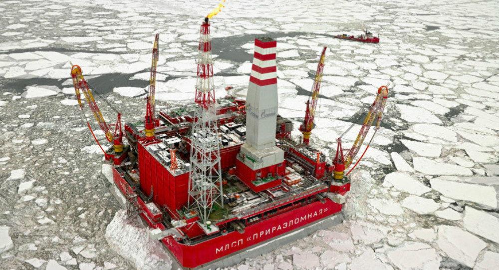 Prirazlomnaya oil platform