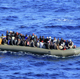 At least 200 migrants are missing after their boats sank in the Mediterranean Sea on Wednesday, BBC reported citing UN refugee agency