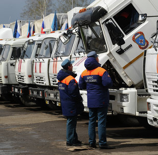 Another humanitarian aid convoy formed in Rostov Region
