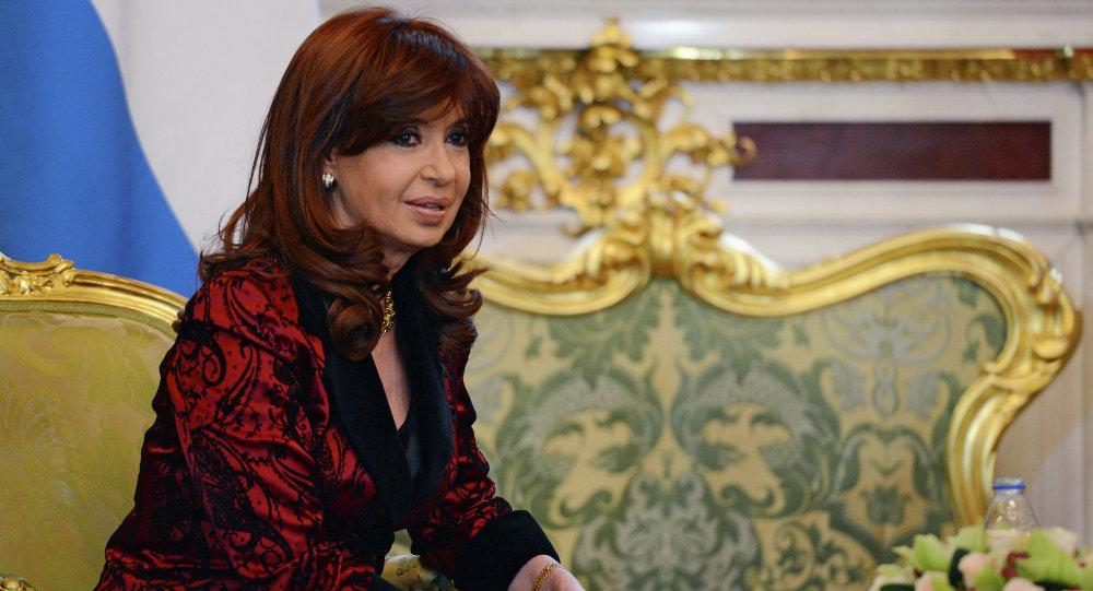 Russian President Vladimir Putin's meeting with President of Argentina Cristina Fernandez de Kirchner