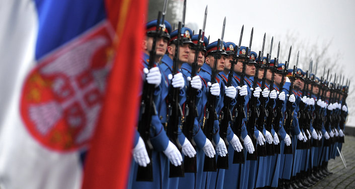 Soldiers of the Serbian Army