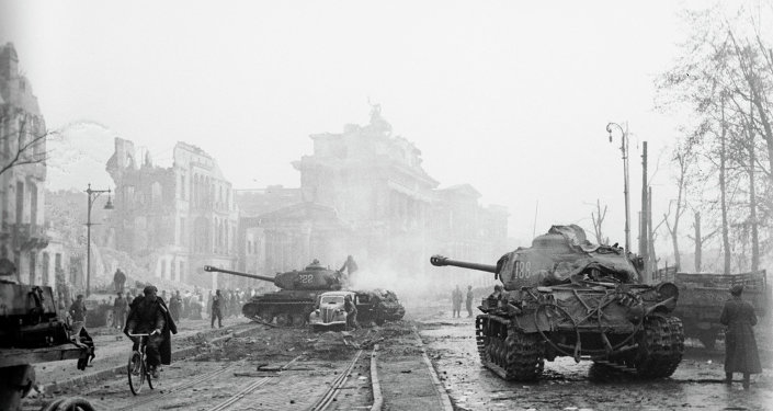 Last battles for Berlin, May 1945