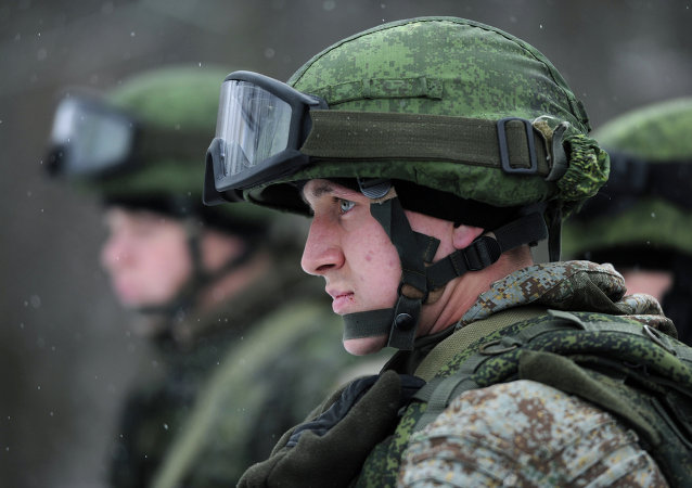 Russian Army troops get new battle suit