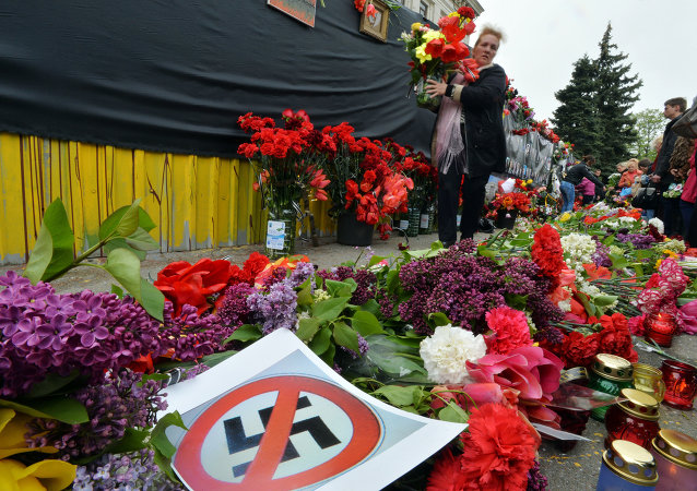 The Foreign Ministry of the Czech Republic has reprimanded a diplomat's recent revulsive and morally unacceptable comments regarding the May 2 House of Trade Unions Massacre in Odessa, a spokesman for the ministry told press on Saturday.