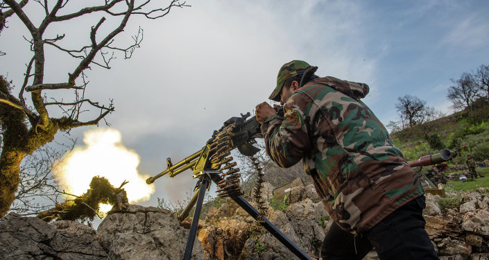 Syrian soldier shooting
