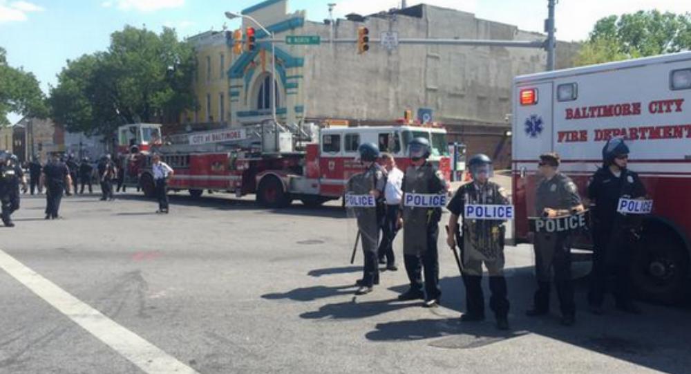 Baltimore shooting