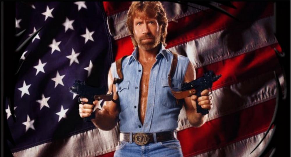 Chuck Norris, man of many talents