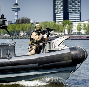 40-year partnership of the UK/NL Amphibious Force, British and Dutch Marines