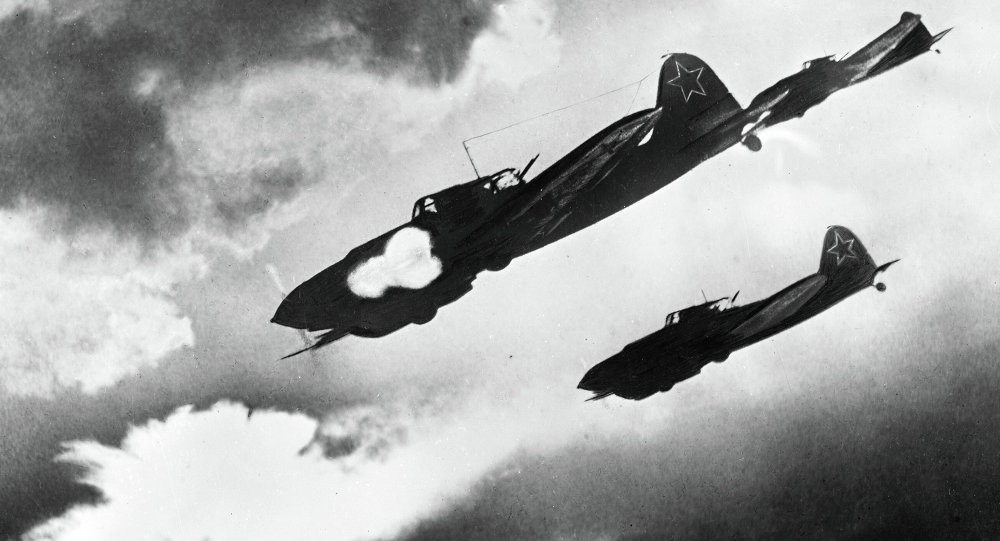IL-2 attacking