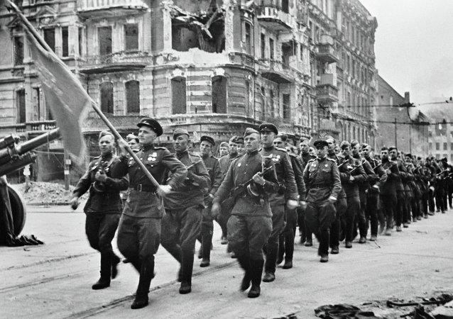 May 1 parade in Berlin