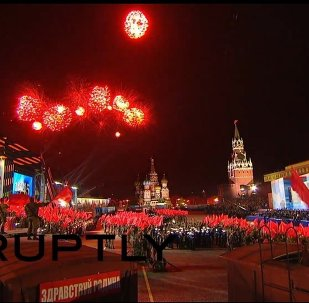 Russia: Magnificent Victory Day firework display lights up Moscow