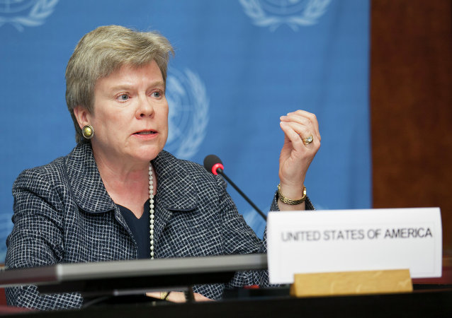 Rose Gottenmoeller, the Under Secretary of State for Arms Control and International Security for the US State Department