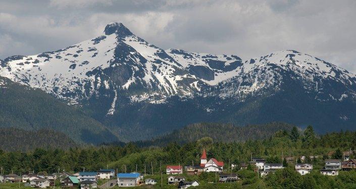 Lax Kw'alaams territory in British Columbia