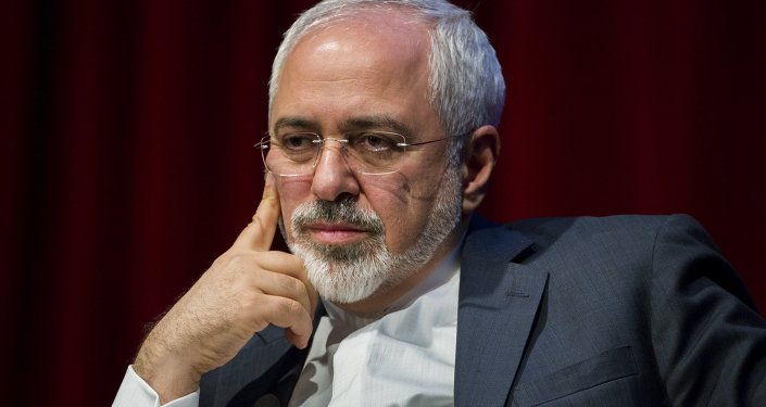 Iranian Foreign Minister Mohammad Javad Zarif speaks at the New York University (NYU) Center on International Cooperation in New York April 29, 2015